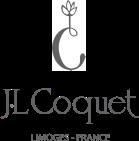 J.L Coquet - Logo vectorisé Limoges France avec le C